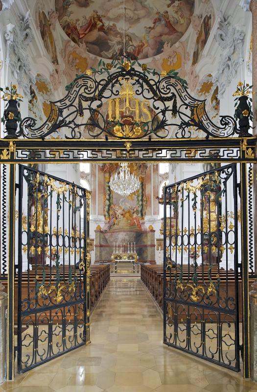 Wallfahrtskirche Herrgottsruh in Friedberg (Augsburg) nach der Restaurierung 2008